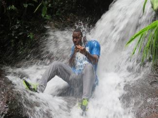 Cascade à Roura