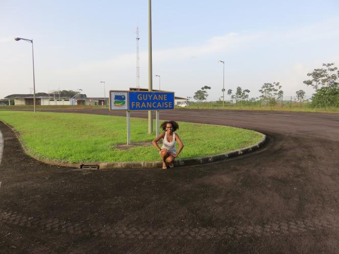 Frontière Guyane / Brésil